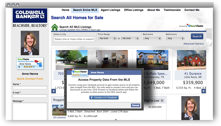 IDX MLS Search for Website and Blog